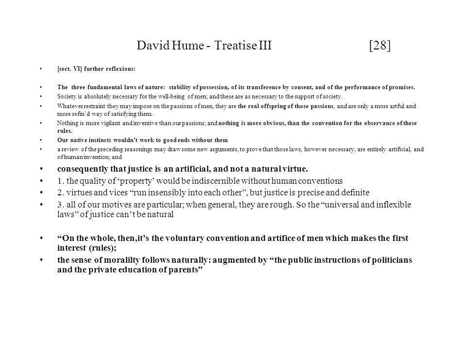 David Hume - Treatise III [28]